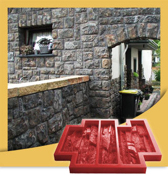Molds for cultured stone