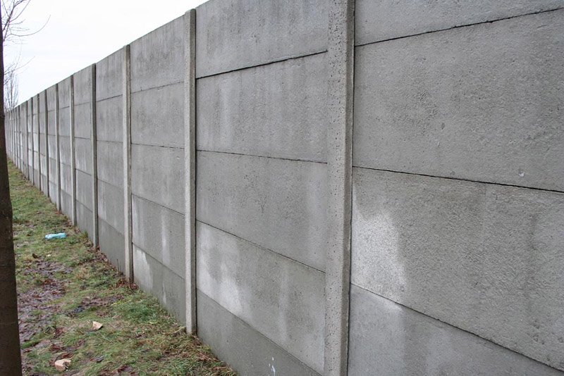 Concrete Fence Walls : Concrete fence wall panel moulds stone